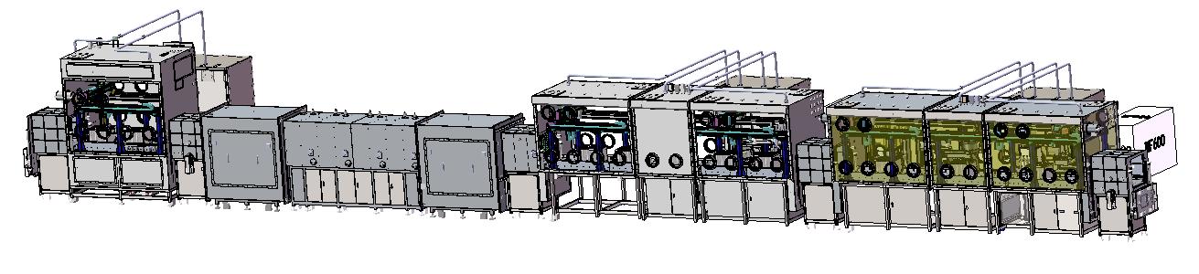米开罗那圆柱体固态电池全自动化生产线